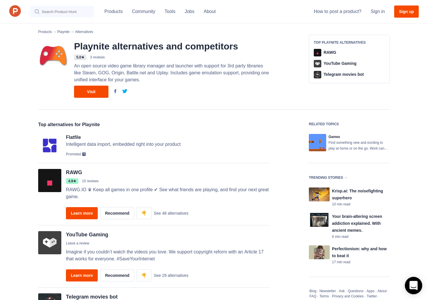 6 Alternatives to Playnite | Product Hunt