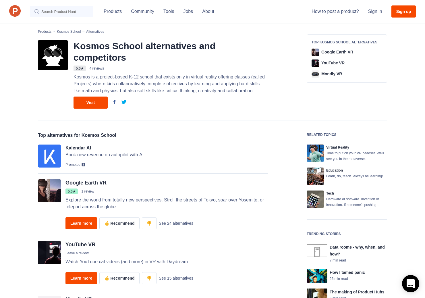 6 Alternatives to Science Simulations by Kosmos School | Product Hunt