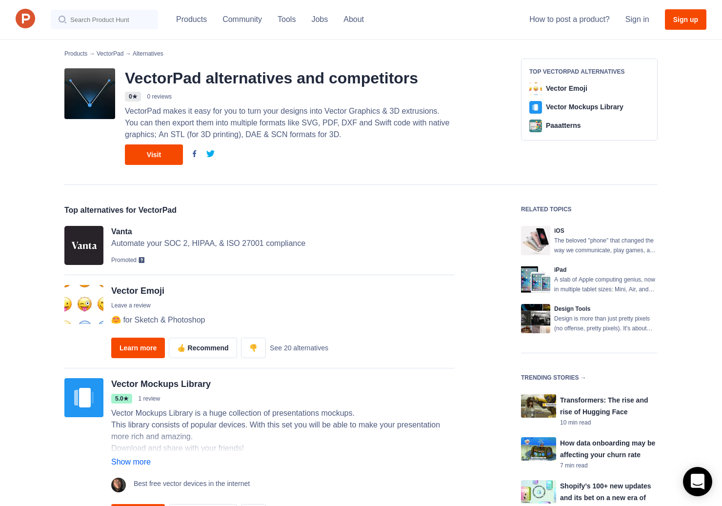 6 Alternatives to VectorPad for iPhone, iPad   Product Hunt