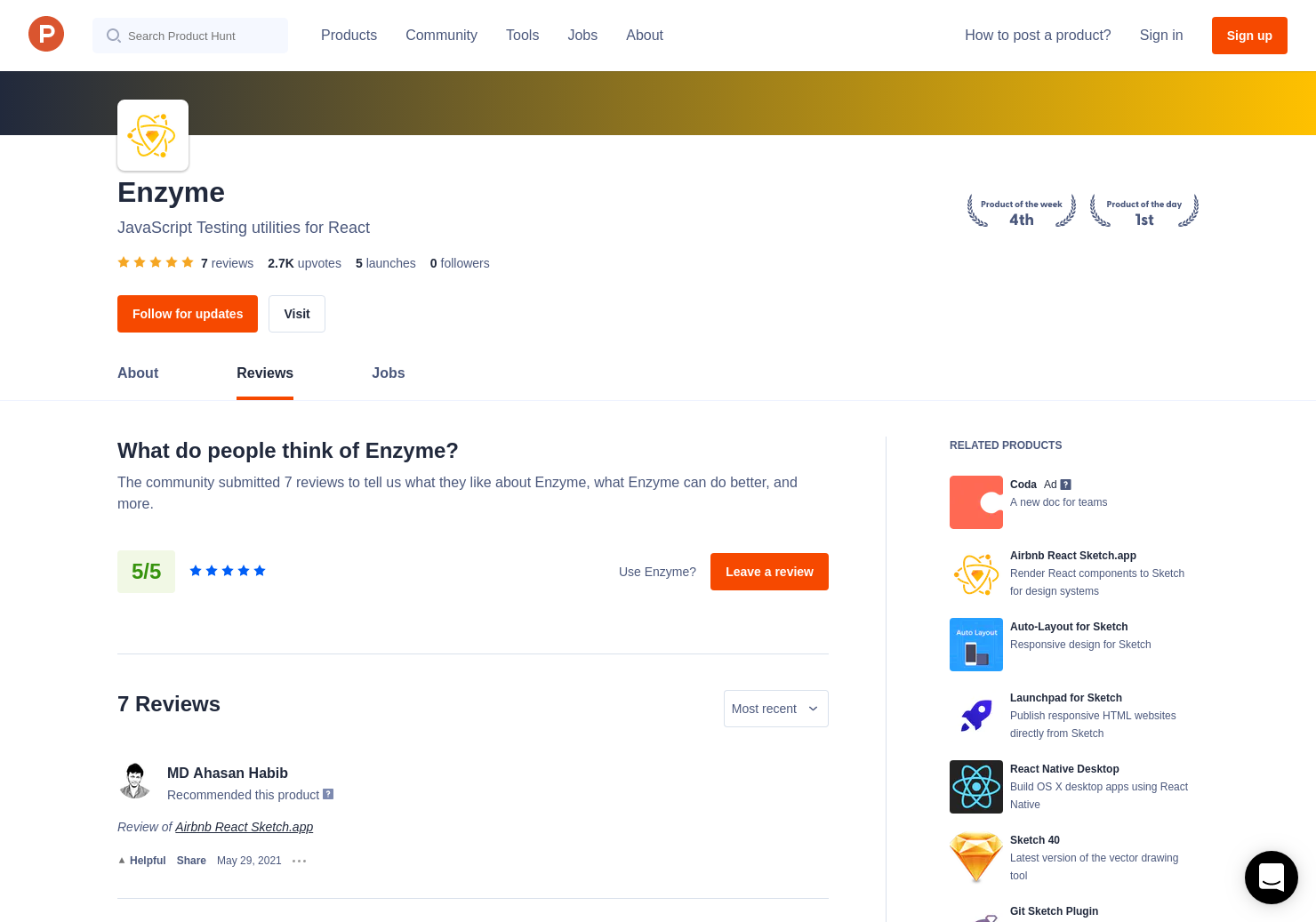 1 Airbnb React Sketch app Reviews - Pros, Cons and Rating
