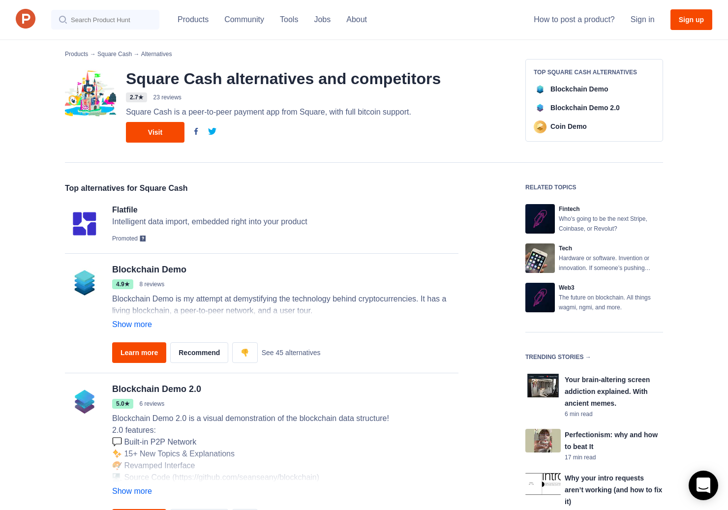 15 Alternatives to Square Cash | Product Hunt
