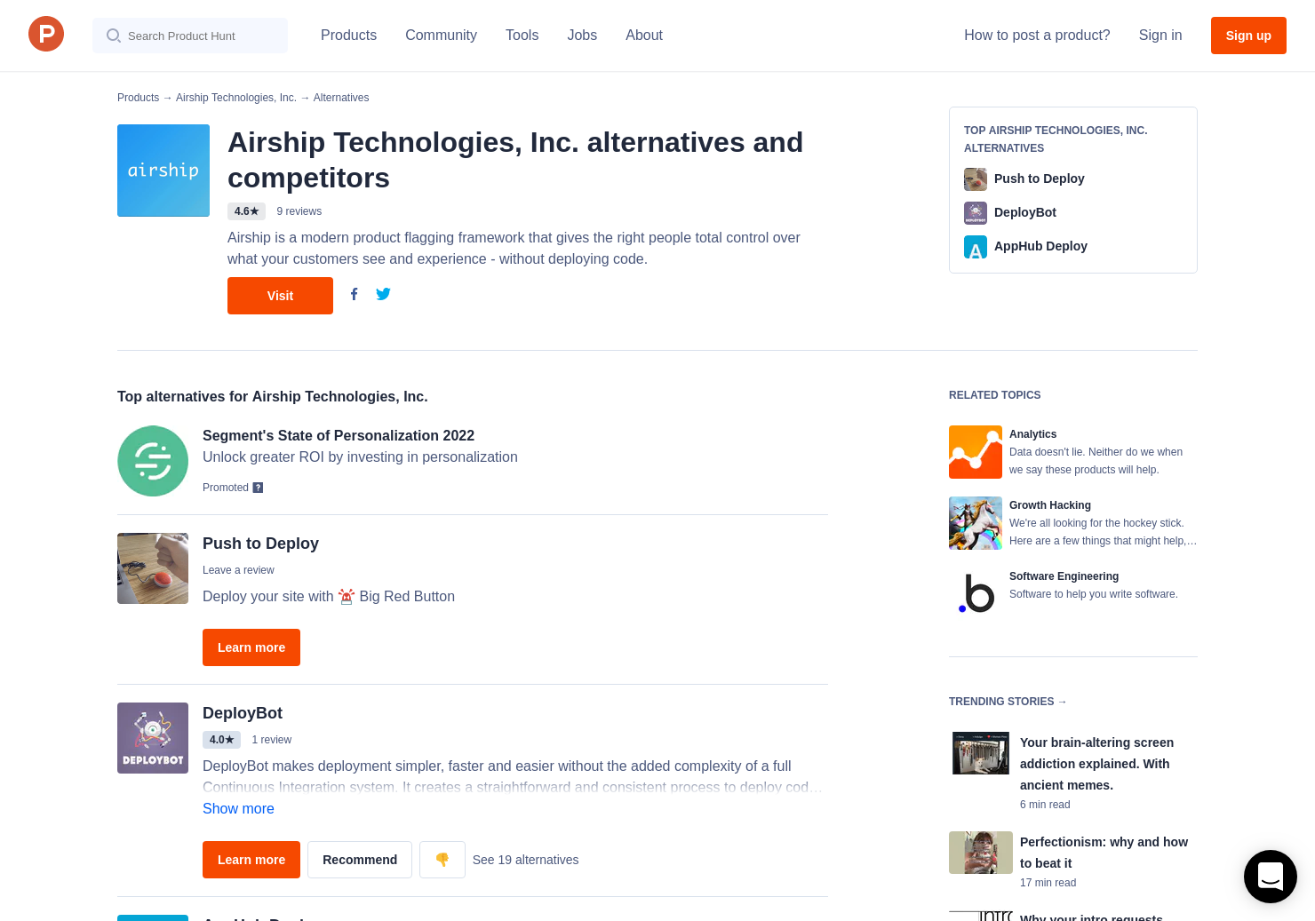 7 Alternatives to Airship | Product Hunt