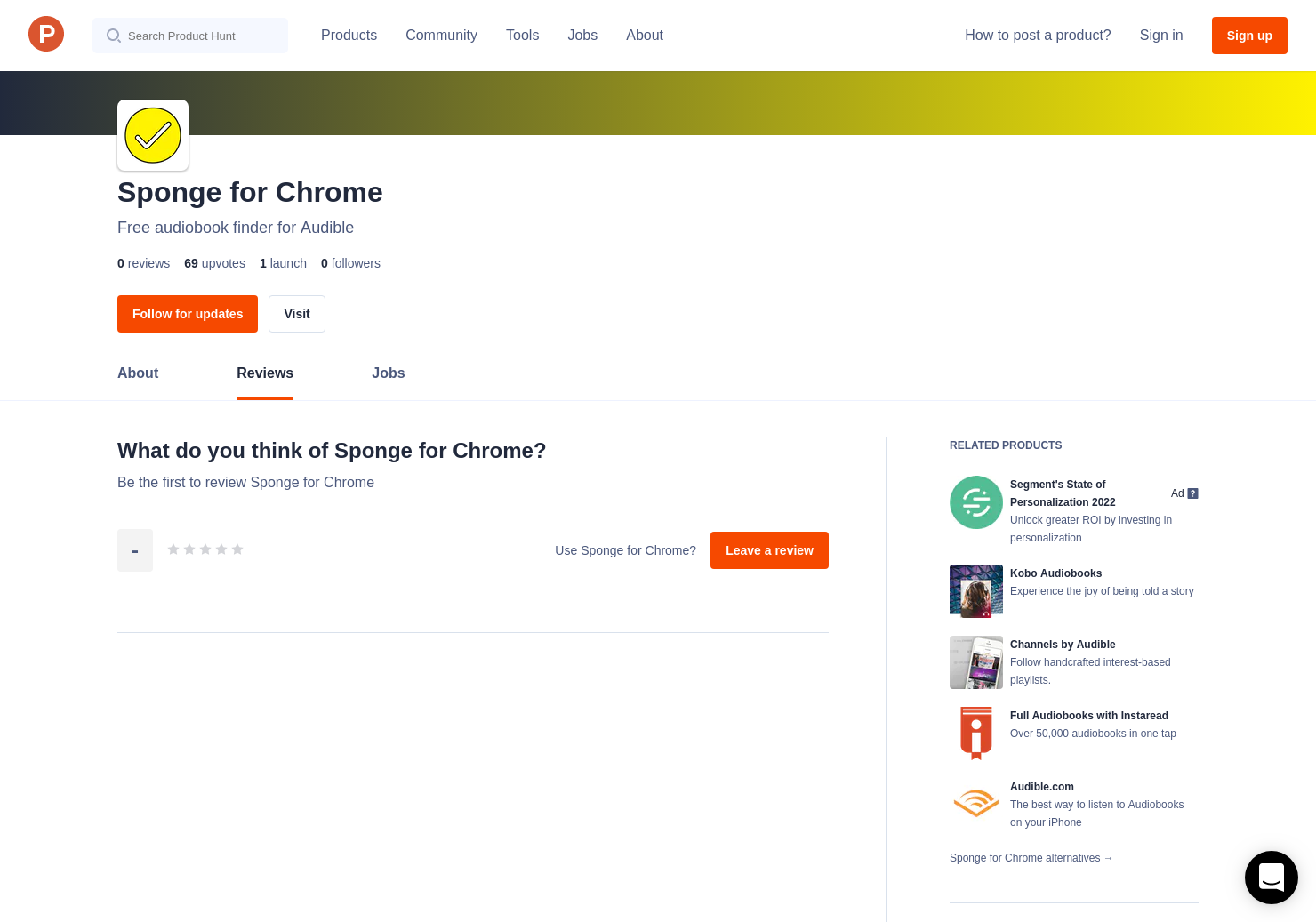 Sponge for Chrome Reviews - Pros, Cons and Rating | Product Hunt