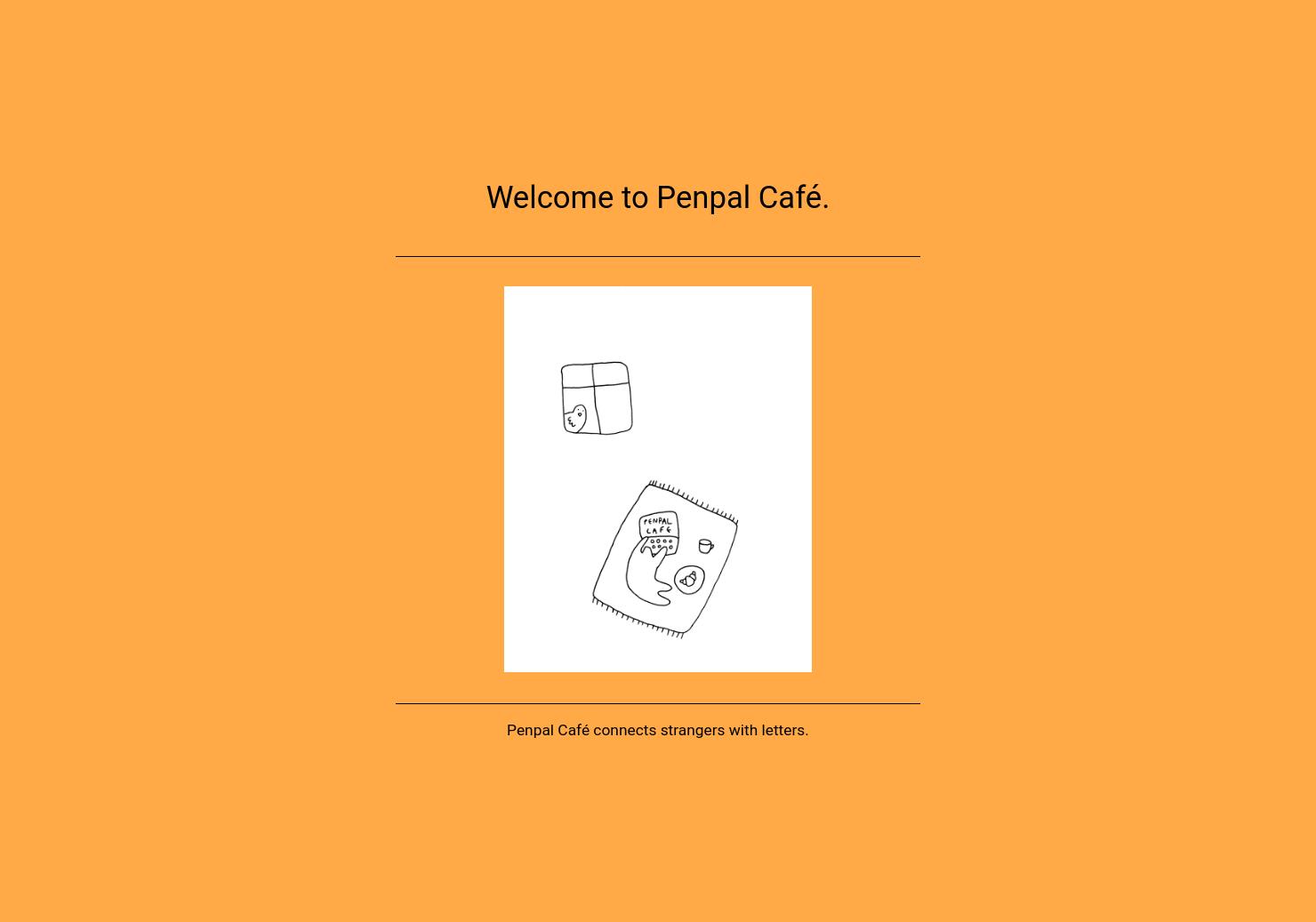 Penpal Café