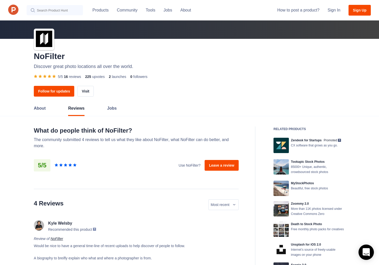 15 NoFilter Reviews - Pros, Cons and Rating | Product Hunt