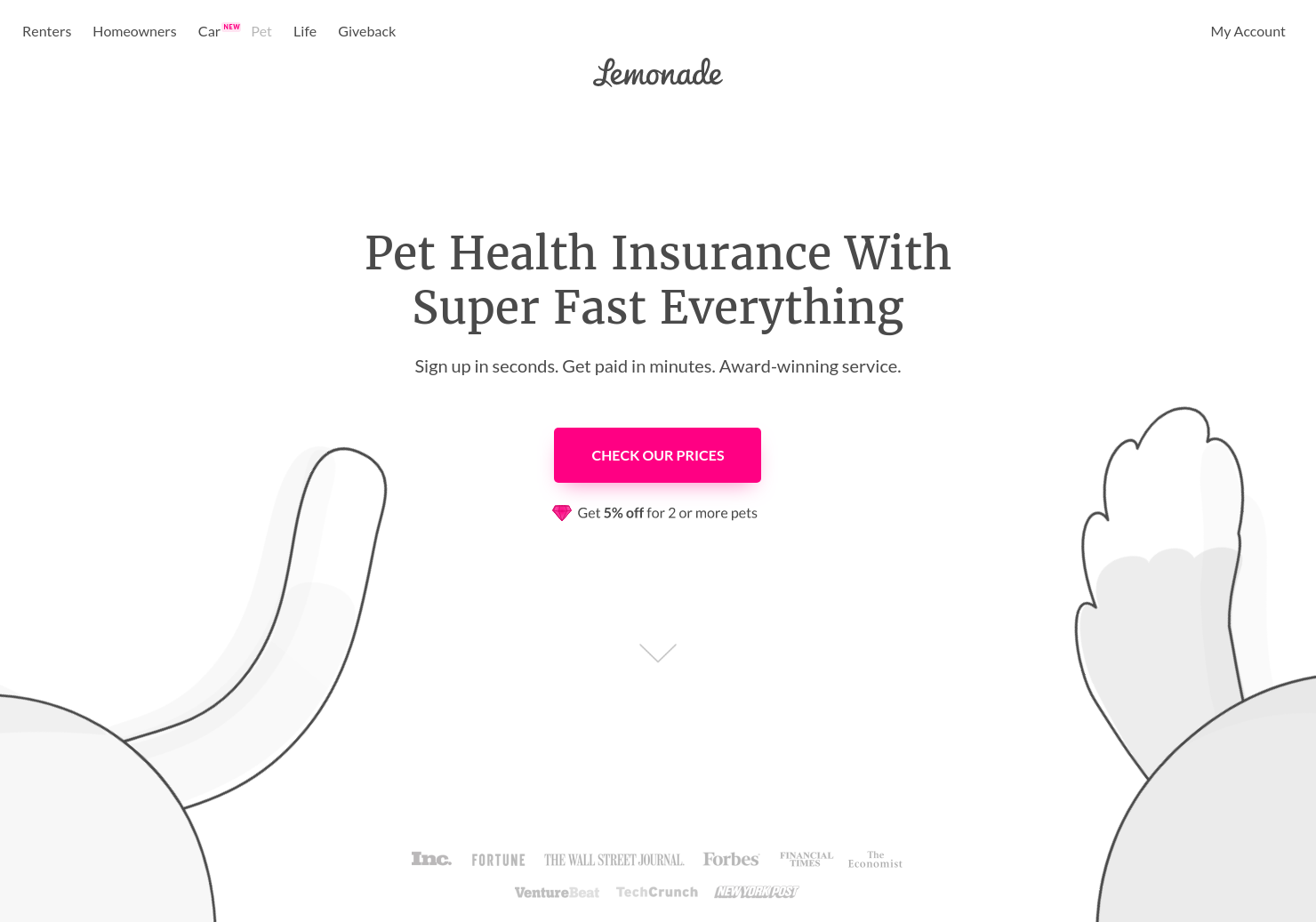 Lemonade Pet Health Insurance