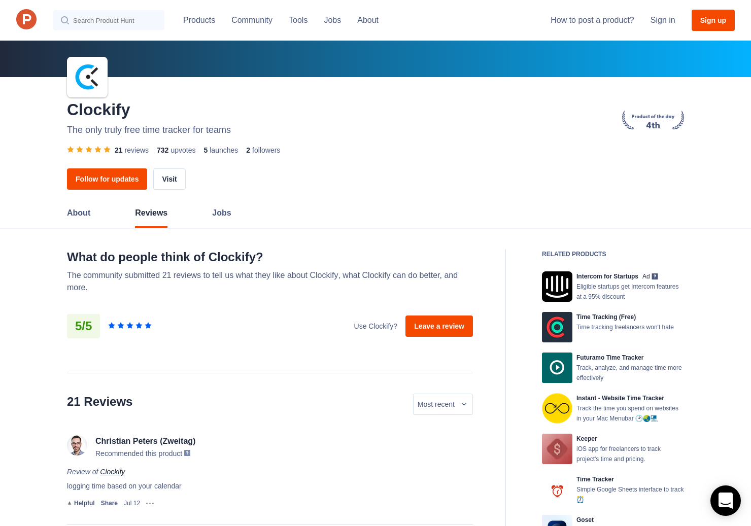8 Clockify for Windows Reviews - Pros, Cons and Rating