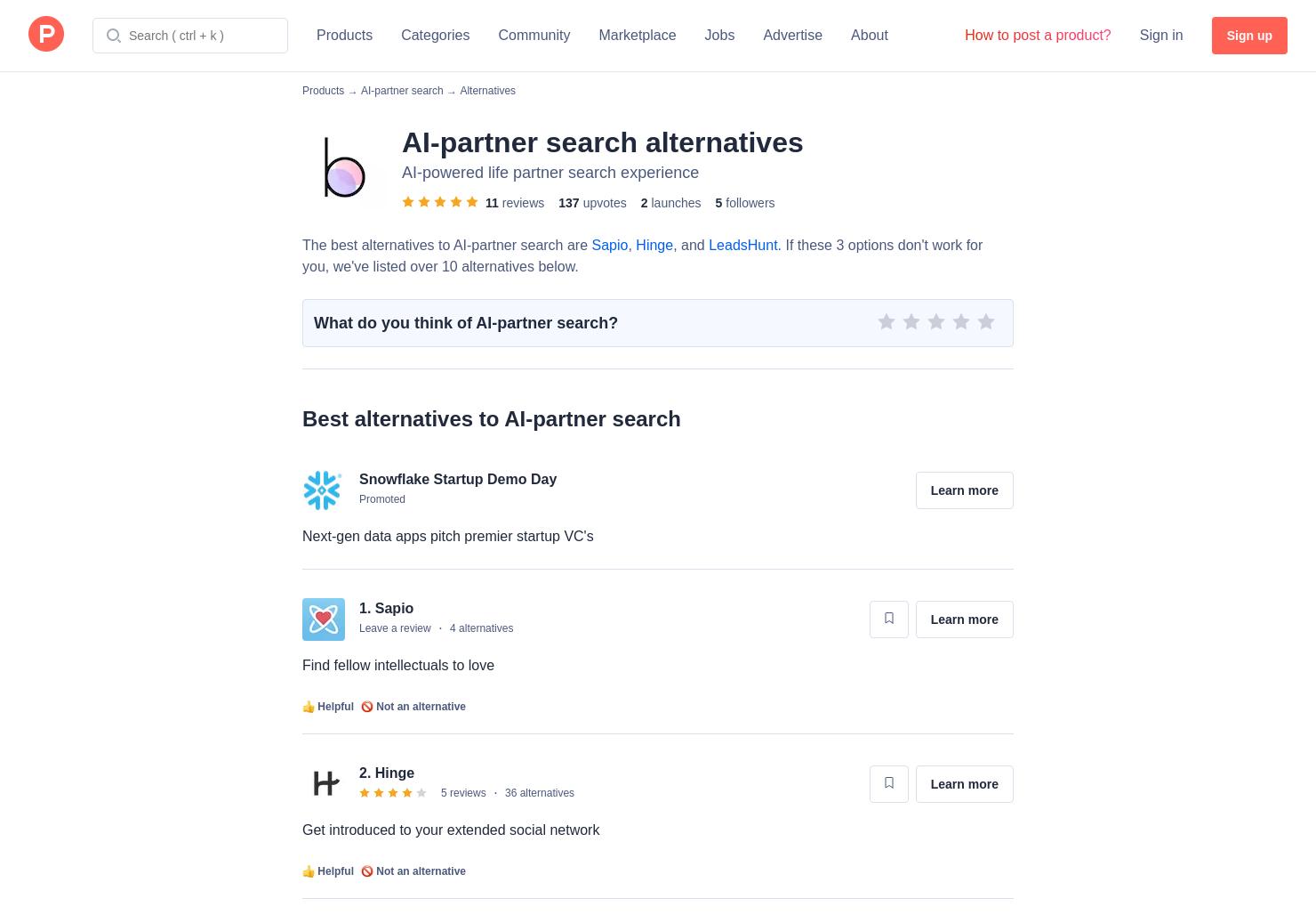 6 Alternatives to Betterhalf ai | Product Hunt