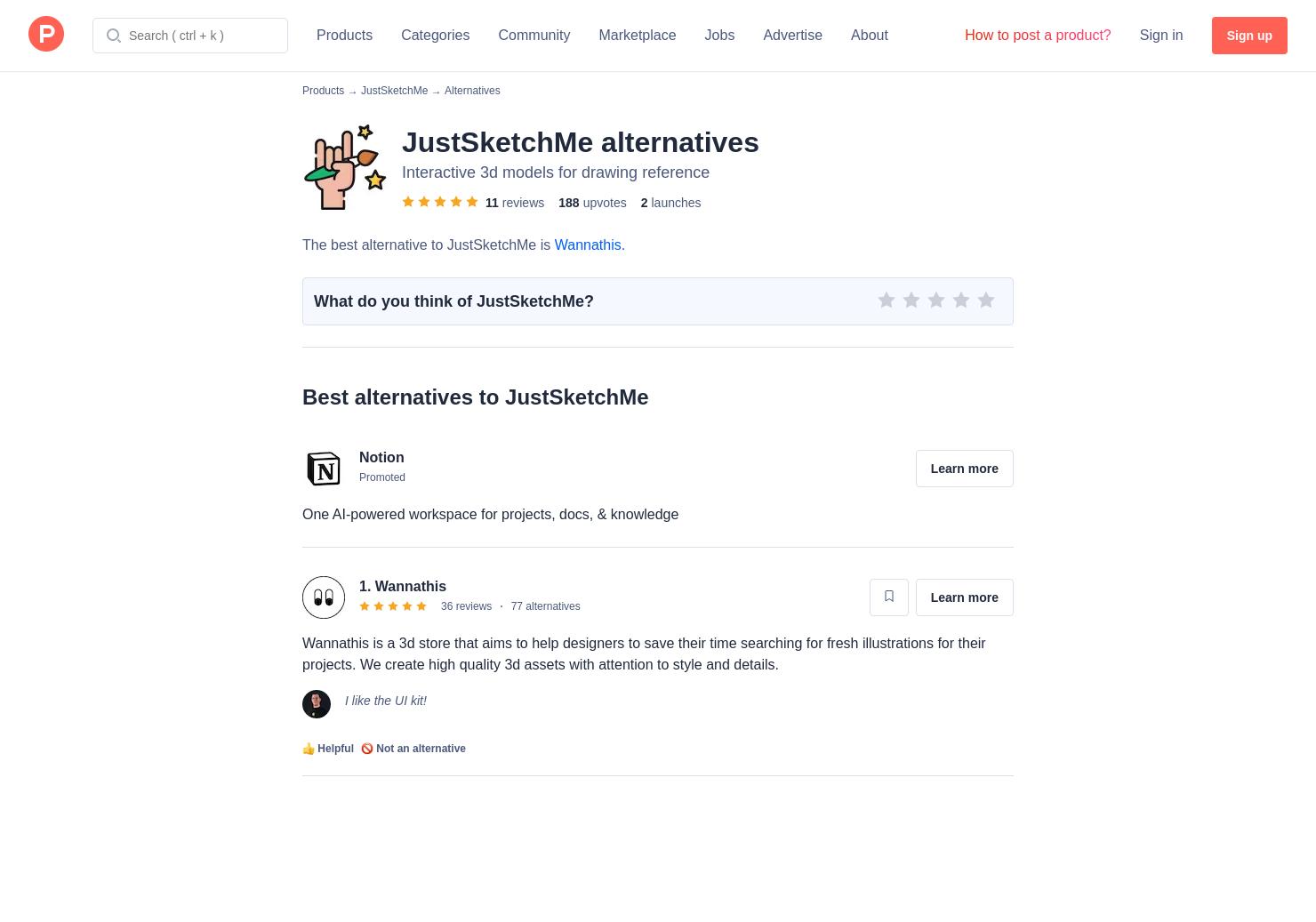 7 Alternatives to JustSketchMe | Product Hunt
