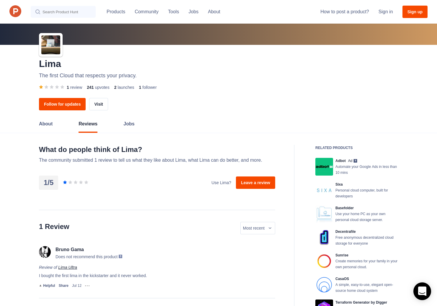 Lima Reviews - Pros, Cons and Rating | Product Hunt