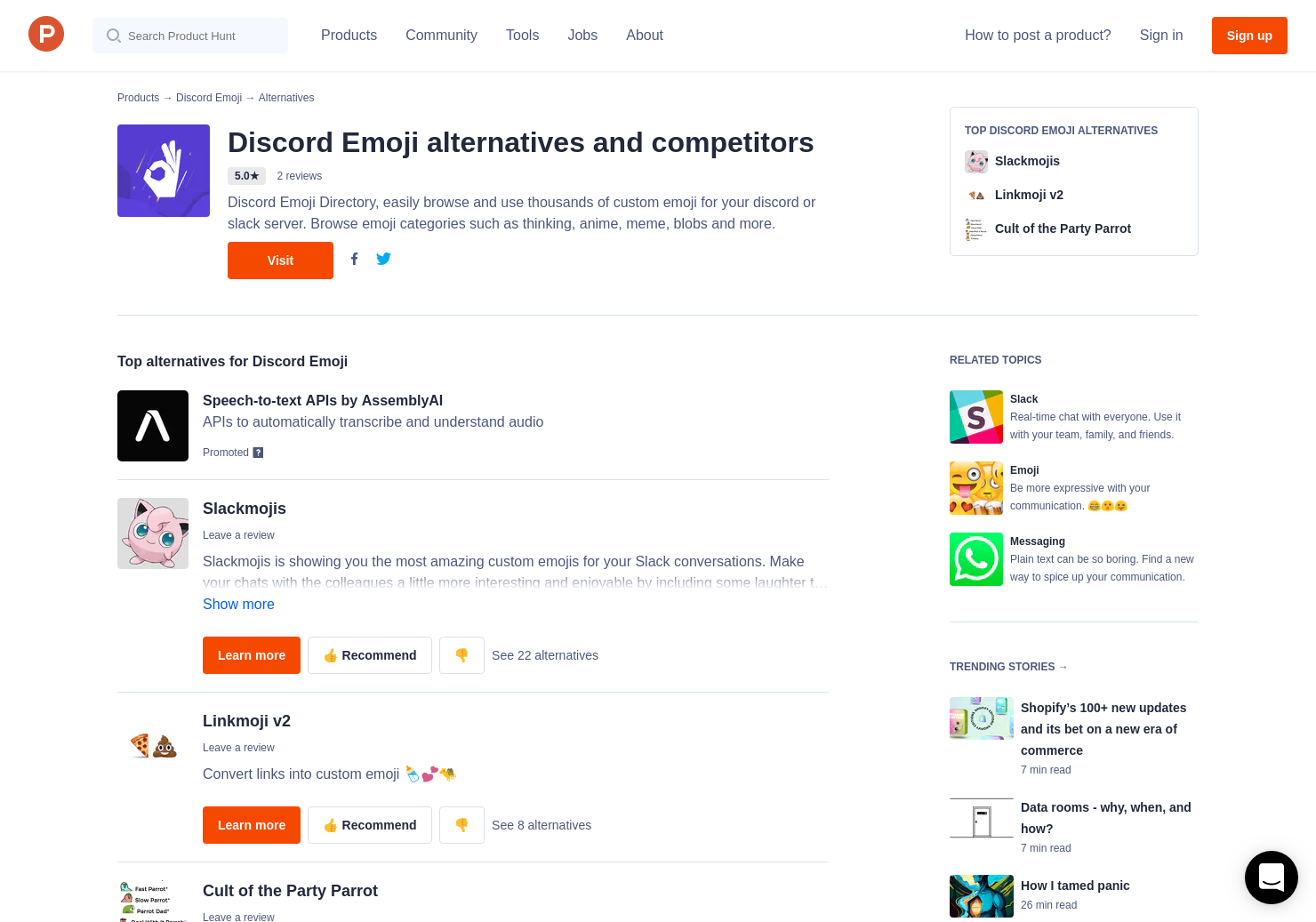4 Alternatives to Emoji Maker | Product Hunt