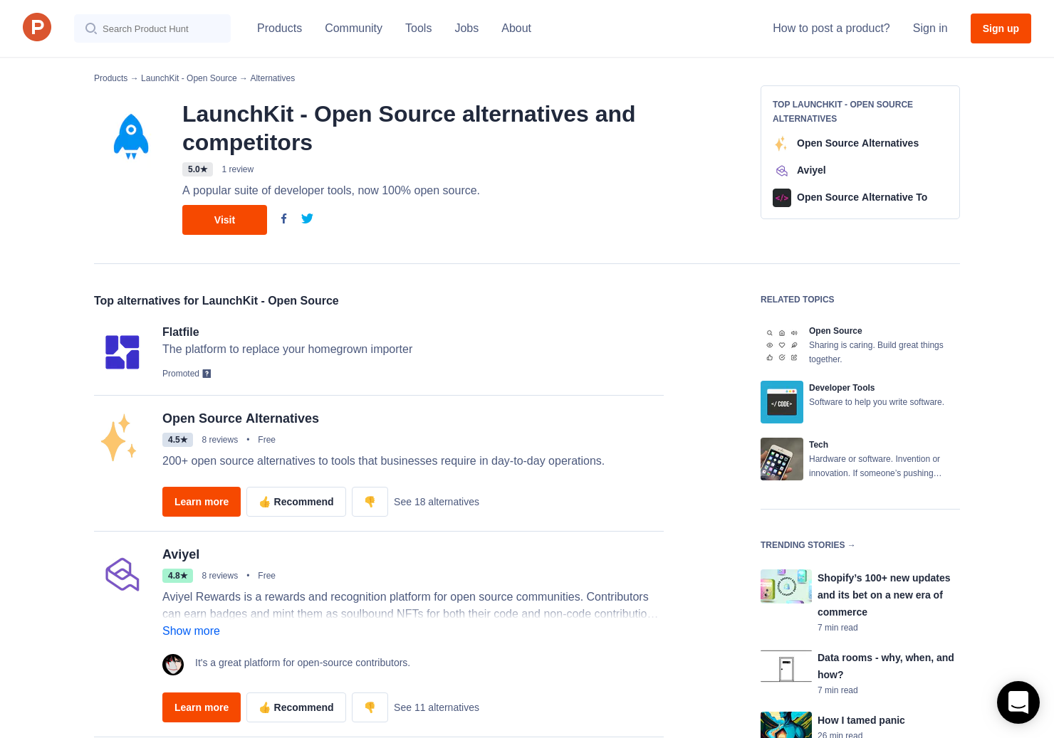 12 Alternatives to LaunchKit - Open Source | Product Hunt