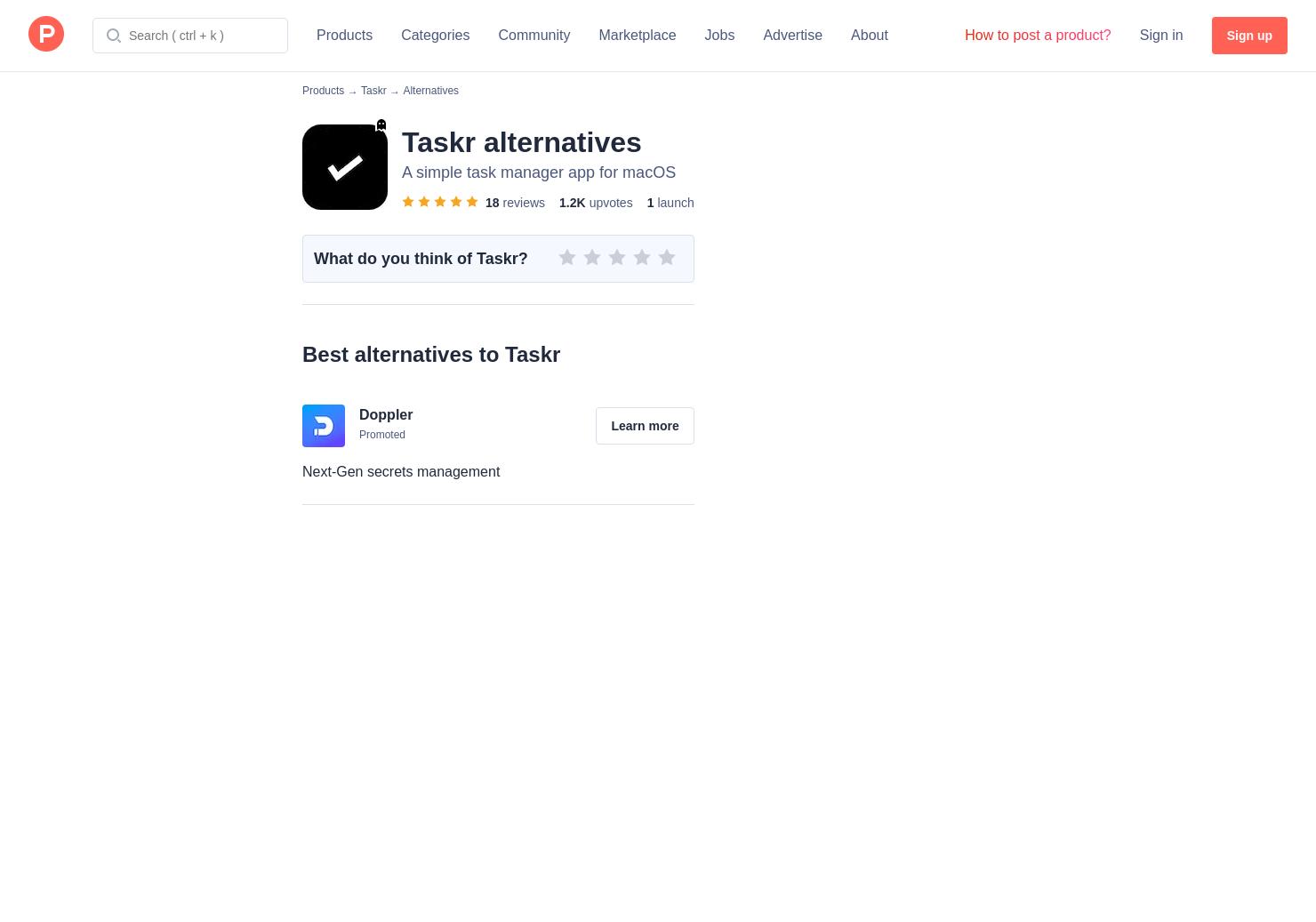 23 Alternatives to Taskr for Mac | Product Hunt