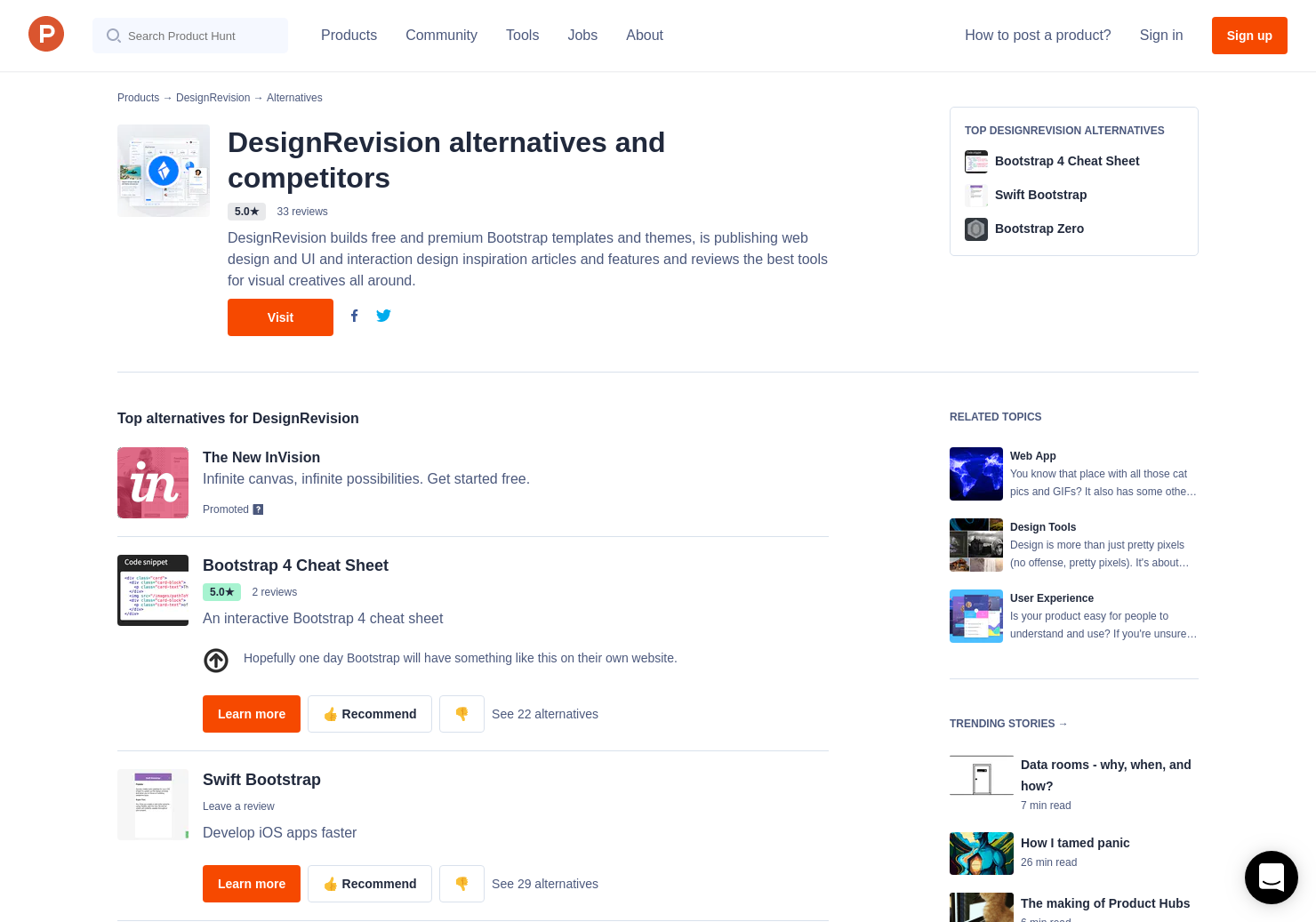 6 Alternatives to Shards Dashboard UI Kit   Product Hunt