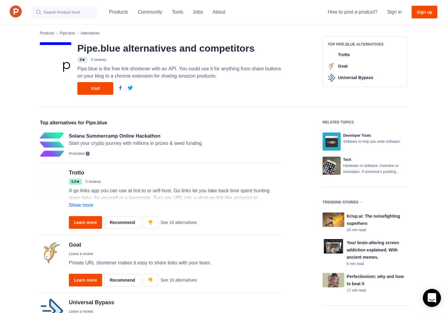 5 Alternatives to Pipe blue | Product Hunt