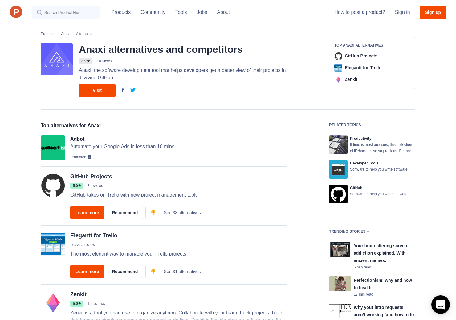 4 Alternatives to Anaxi iPhone - For Jira for iPhone | Product Hunt