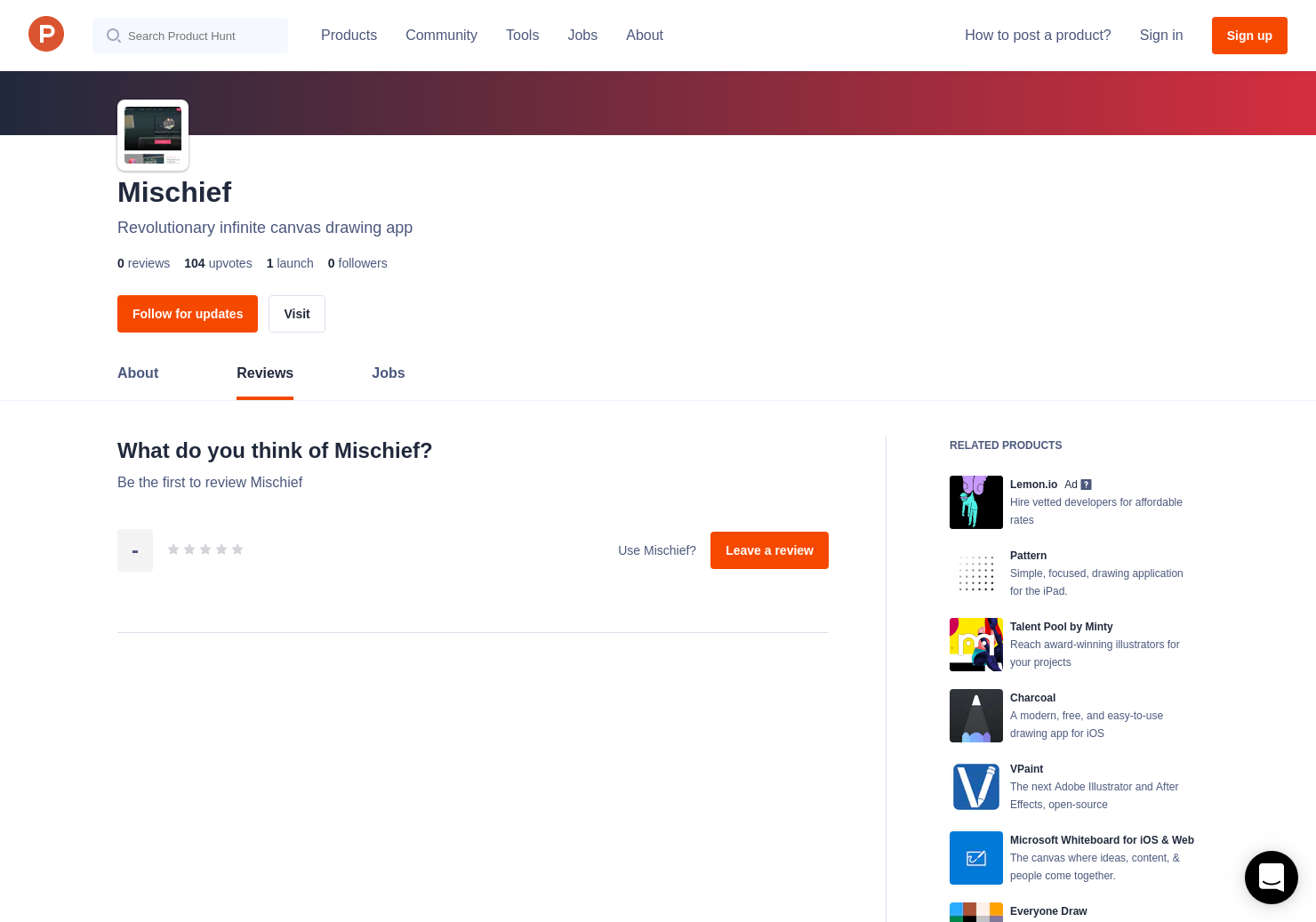 Mischief Reviews - Pros, Cons and Rating | Product Hunt