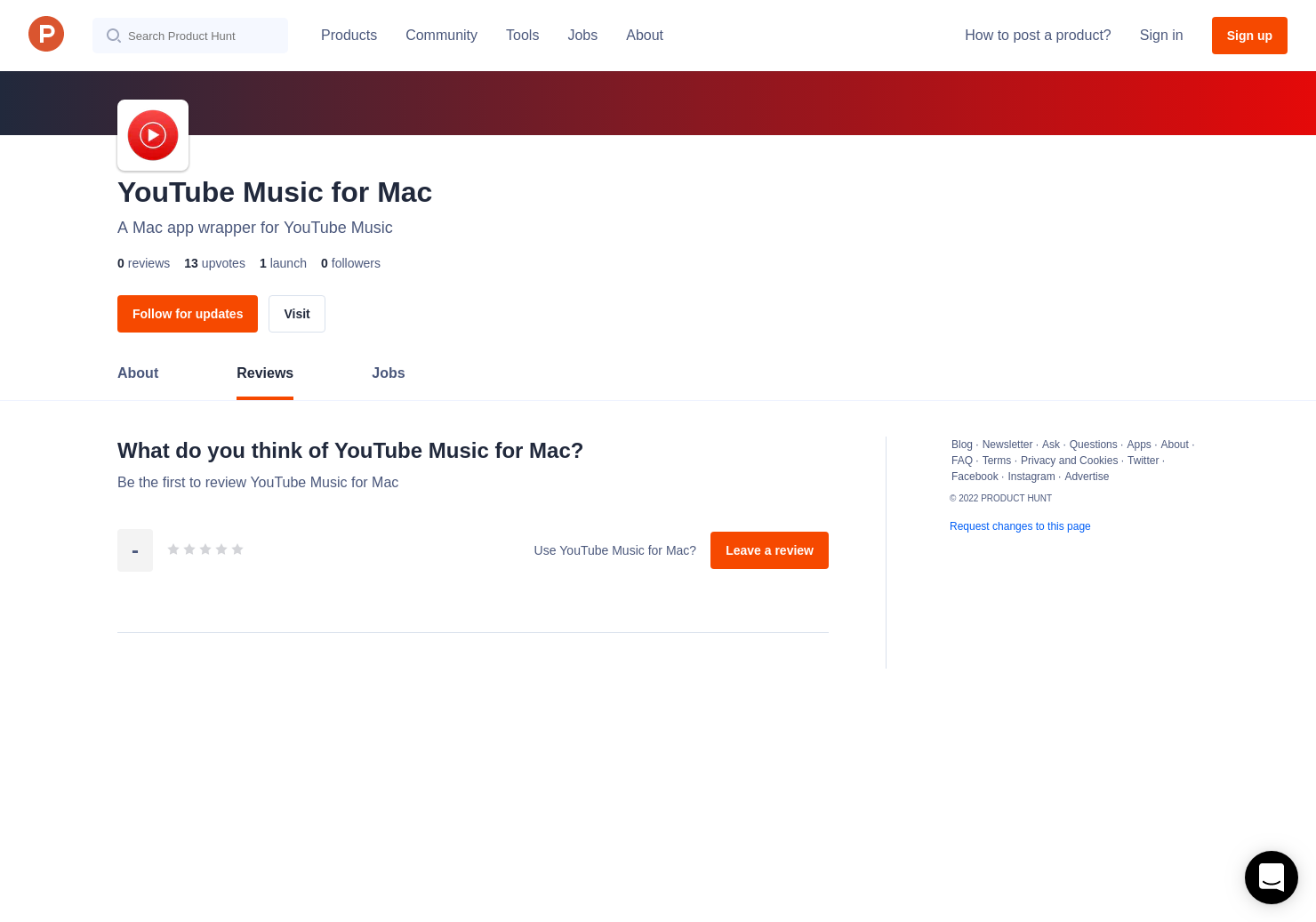 YouTube Music for Mac Reviews - Pros, Cons and Rating