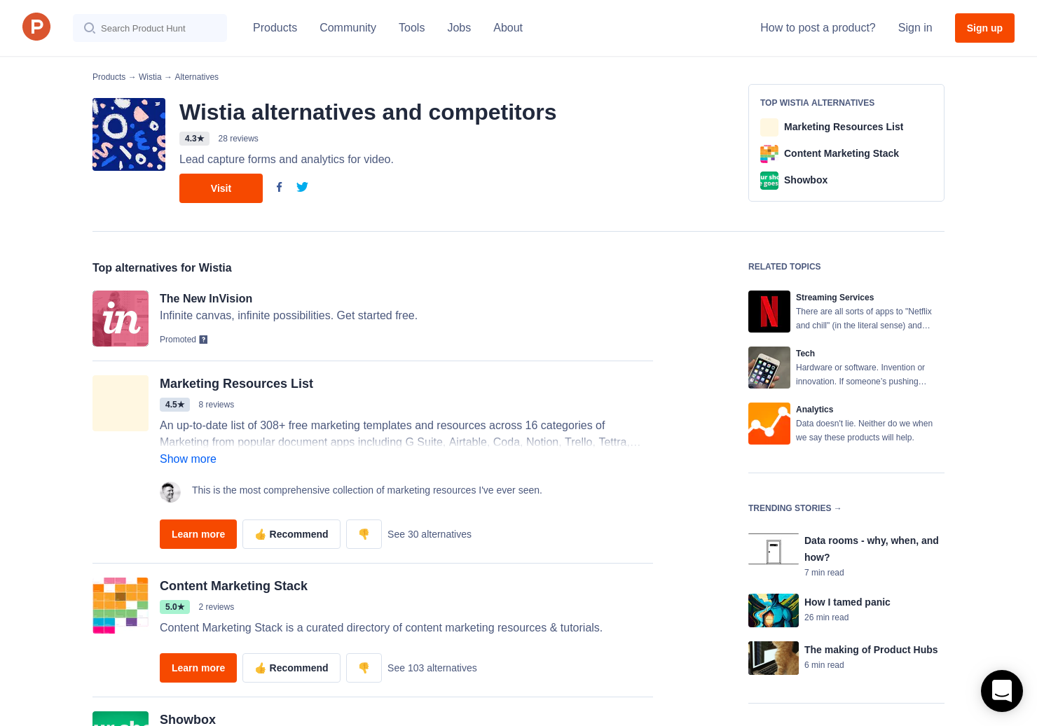 5 Alternatives to Soapbox for Teams | Product Hunt