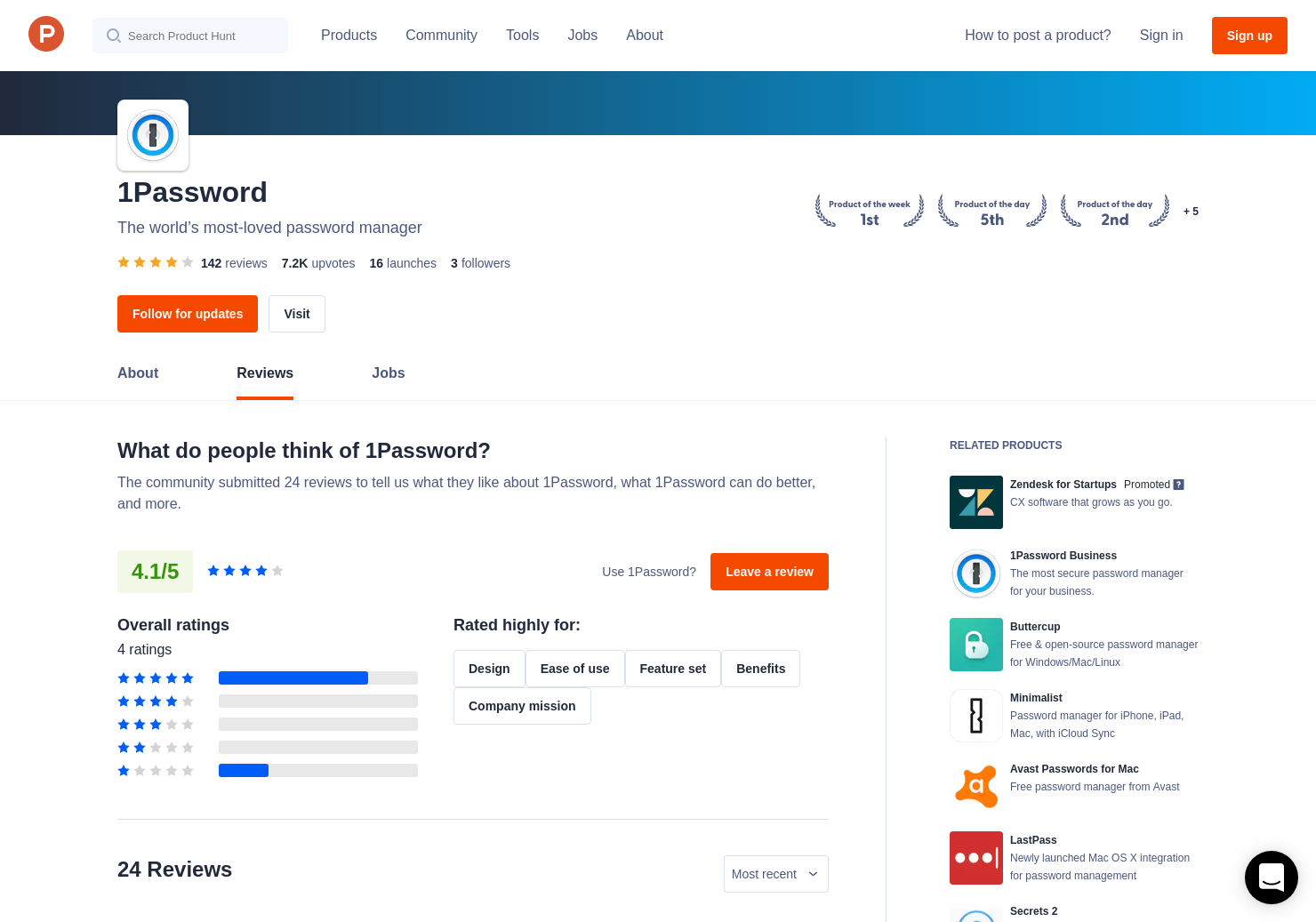 3 1Password 6 2 for iOS Reviews - Pros, Cons and Rating   Product Hunt