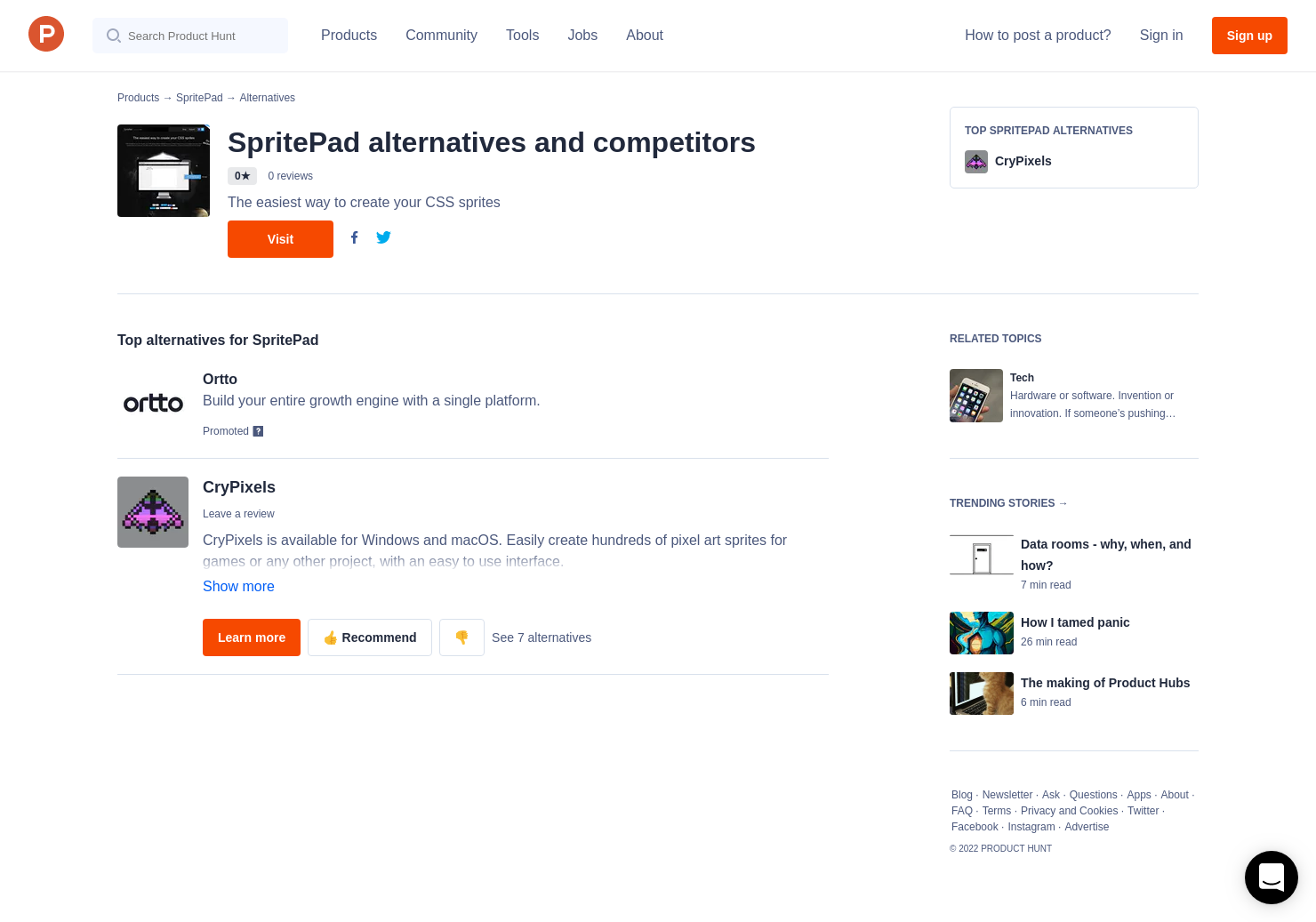 1 Alternatives to SpritePad | Product Hunt