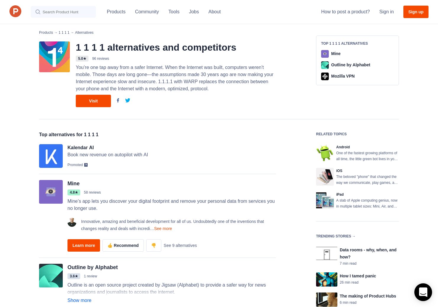 14 Alternatives to The 1 1 1 1 App for Android, iPhone | Product Hunt