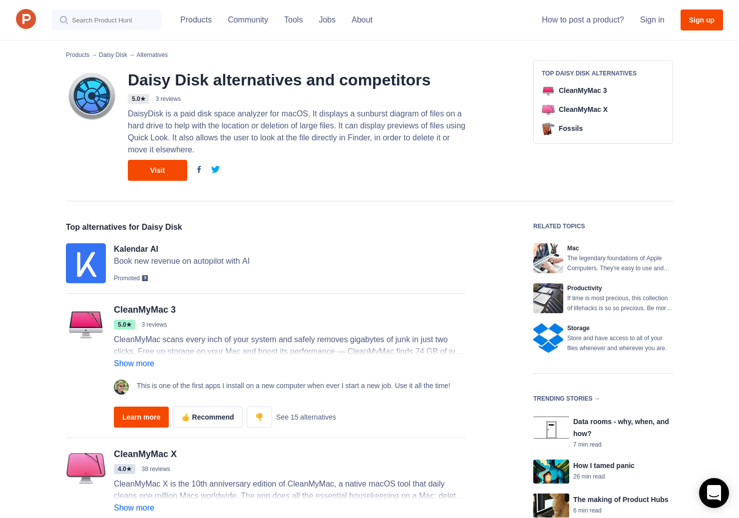 7 Alternatives to Daisy Disk 4 0 for Mac | Product Hunt