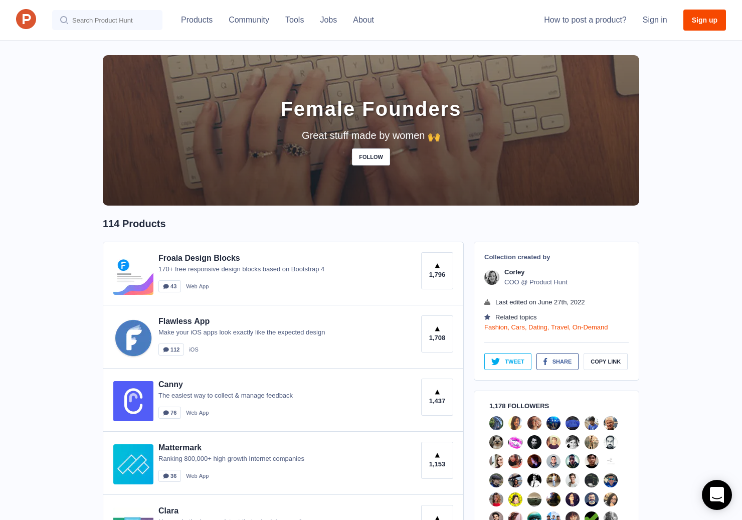 Female Founders by Corley