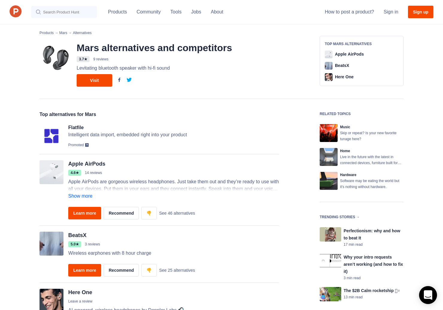 4a7ac9598df 9 Alternatives to Crazybaby Air 1S | Product Hunt