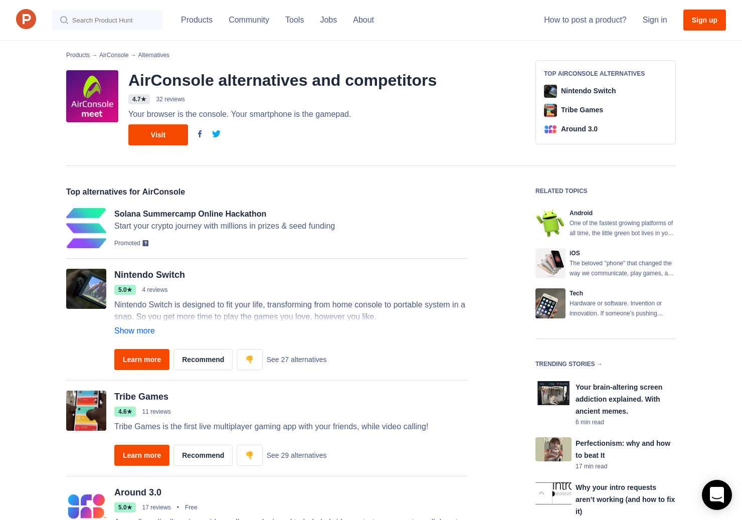 14 Alternatives to AirConsole 2 0 for Android, iPhone