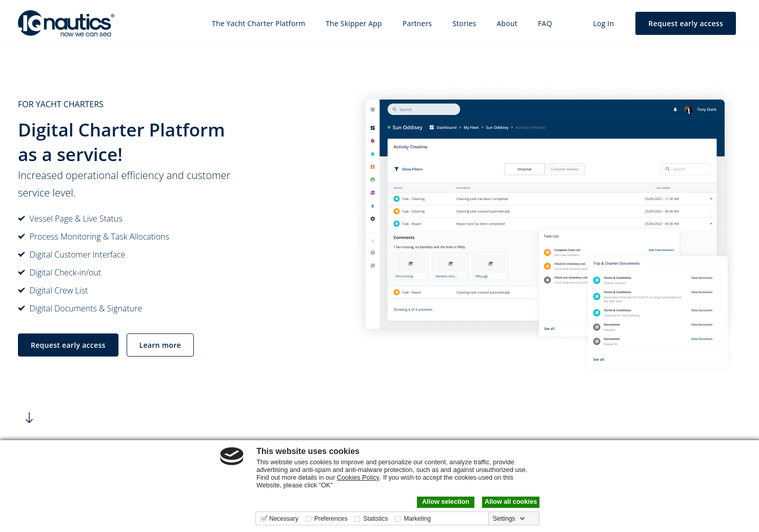IQNautics Live Marine Traffic