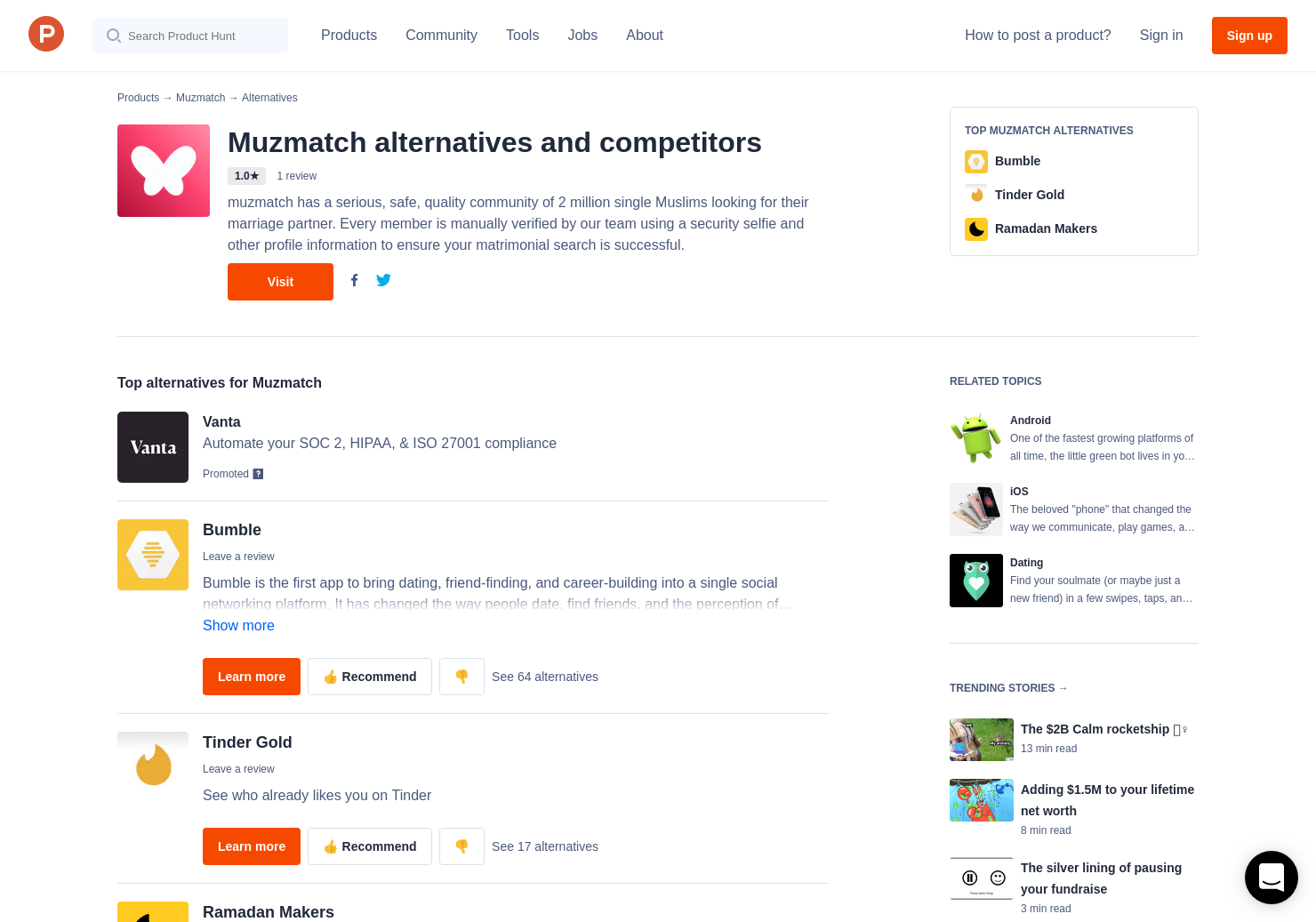 7 Alternatives To Muzmatch For Android Iphone Product Hunt