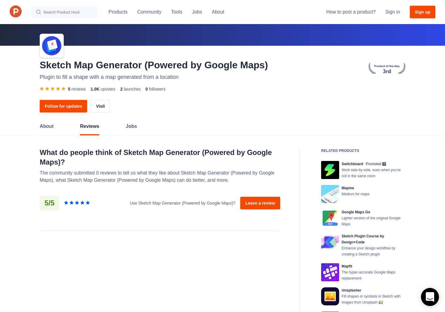 Sketch Map Generator (Powered by Google Maps) Reviews - Pros