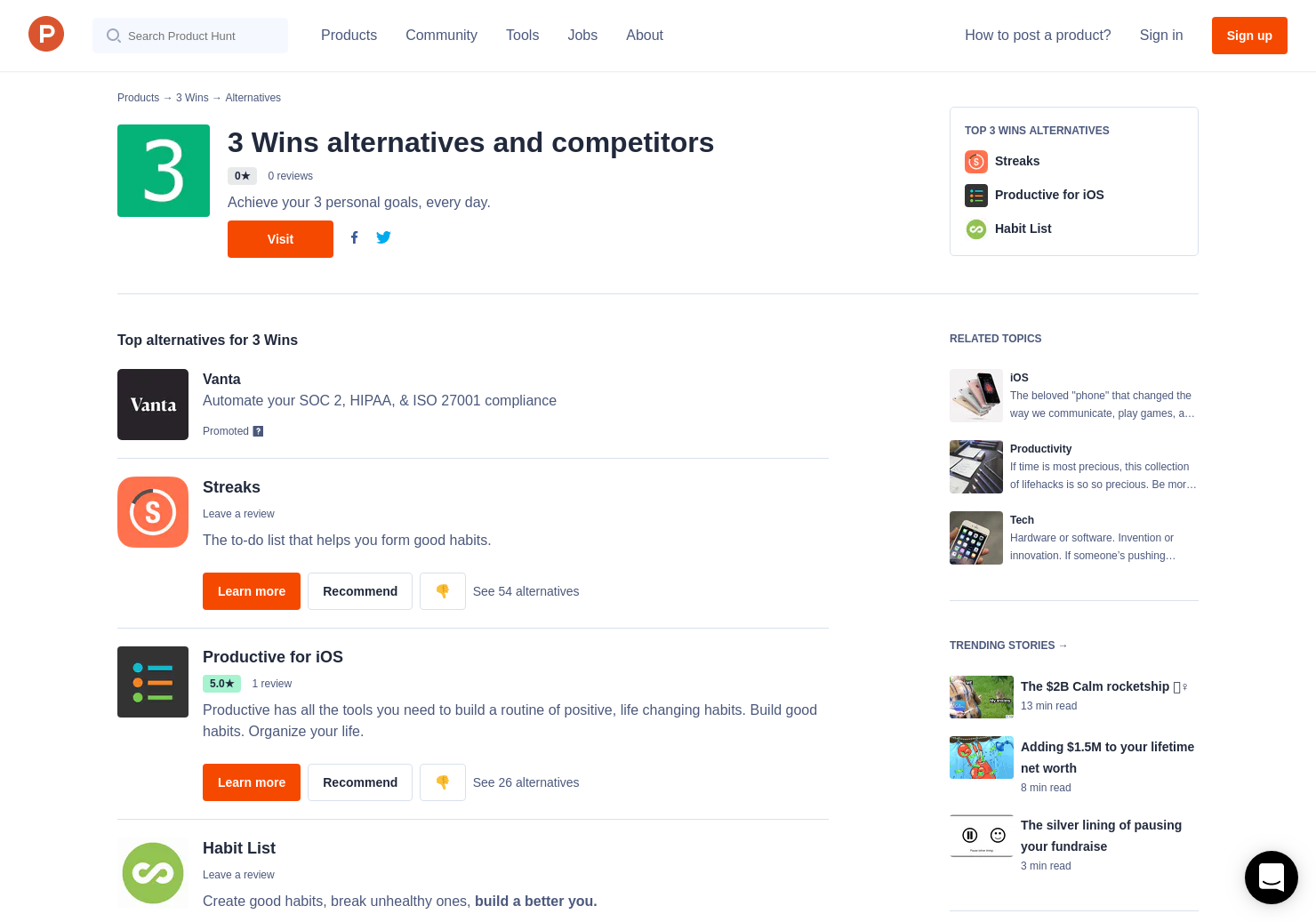 5 Alternatives to 3 Wins 2 0 for iPhone | Product Hunt