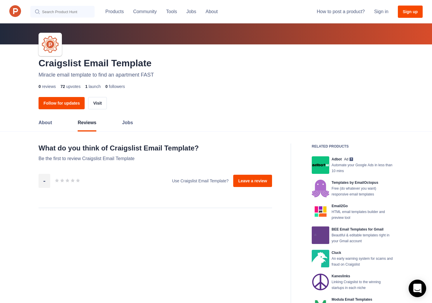 Craigslist Email Template Reviews - Pros, Cons and Rating