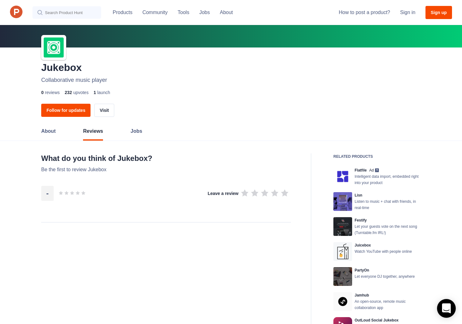 Jukebox Reviews - Pros, Cons and Rating | Product Hunt