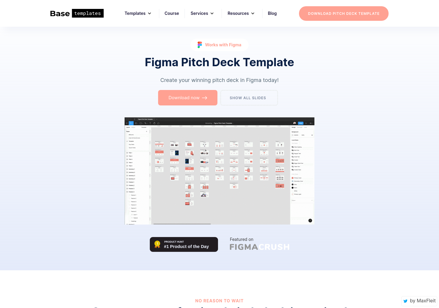 Figma Pitch Deck Template