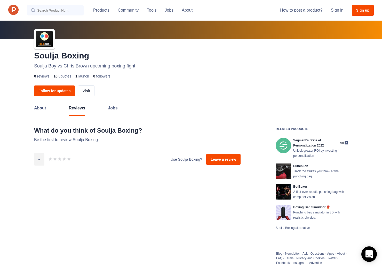 Soulja Boxing Reviews - Pros, Cons and Rating | Product Hunt