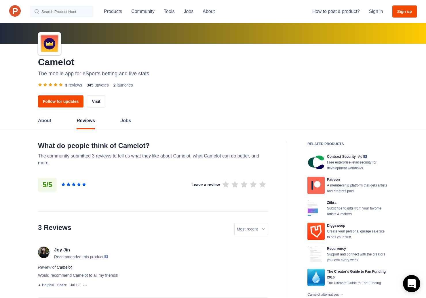 3 Camelot Reviews - Pros, Cons and Rating | Product Hunt