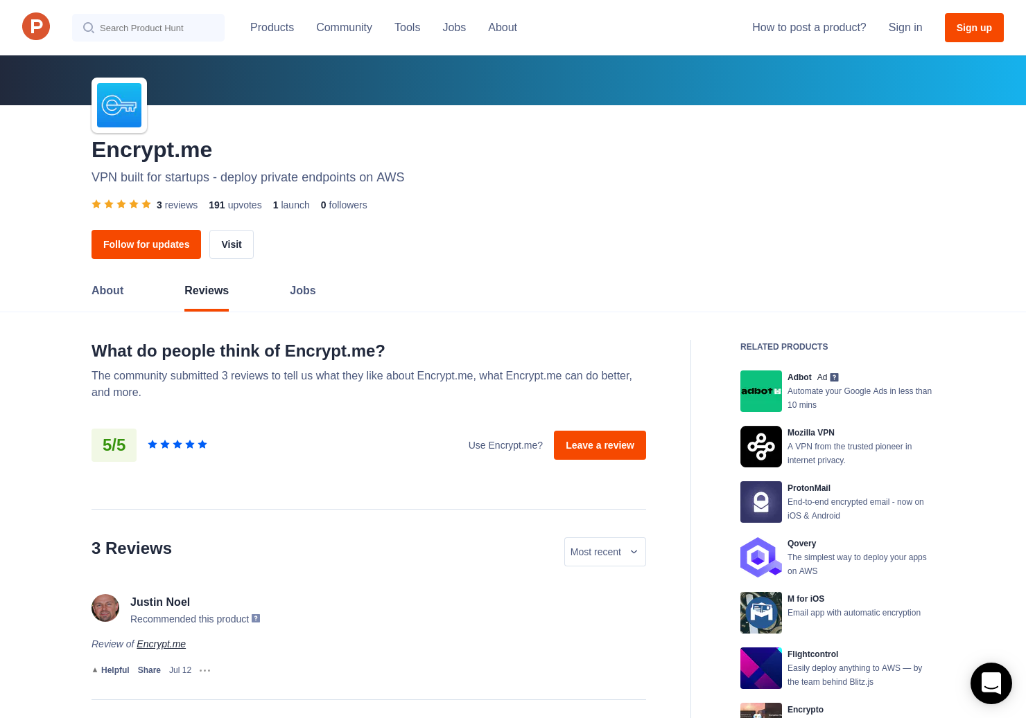 Encrypt me Reviews - Pros, Cons and Rating | Product Hunt