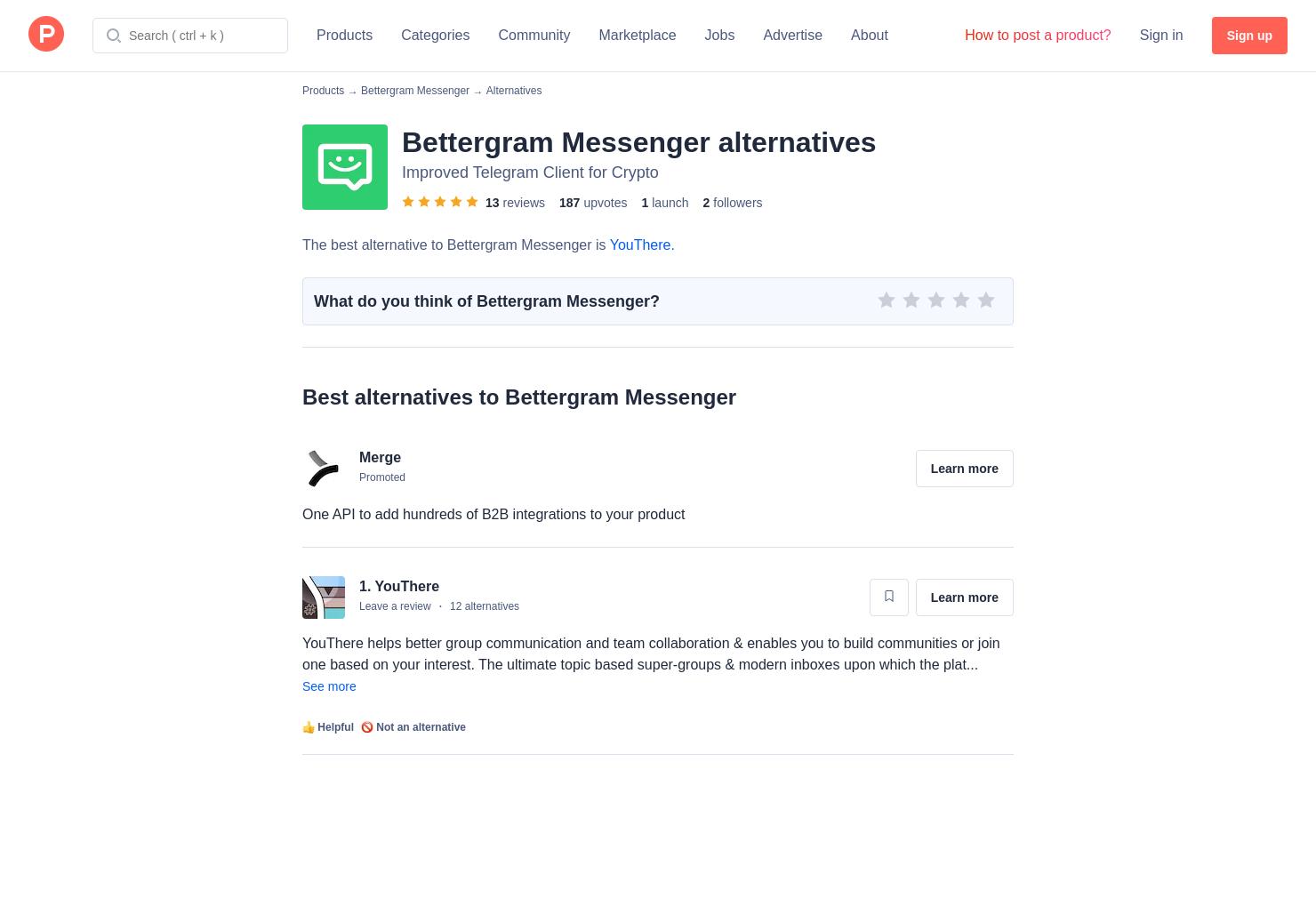 6 Alternatives to Bettergram Messenger | Product Hunt