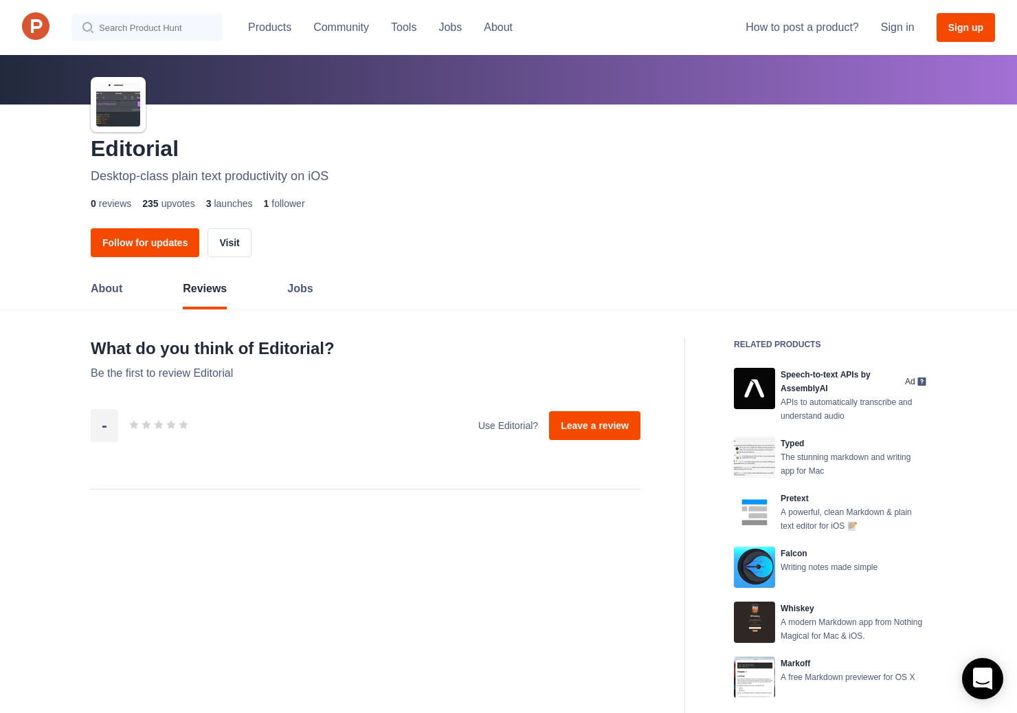 Pythonista Reviews - Pros, Cons and Rating | Product Hunt