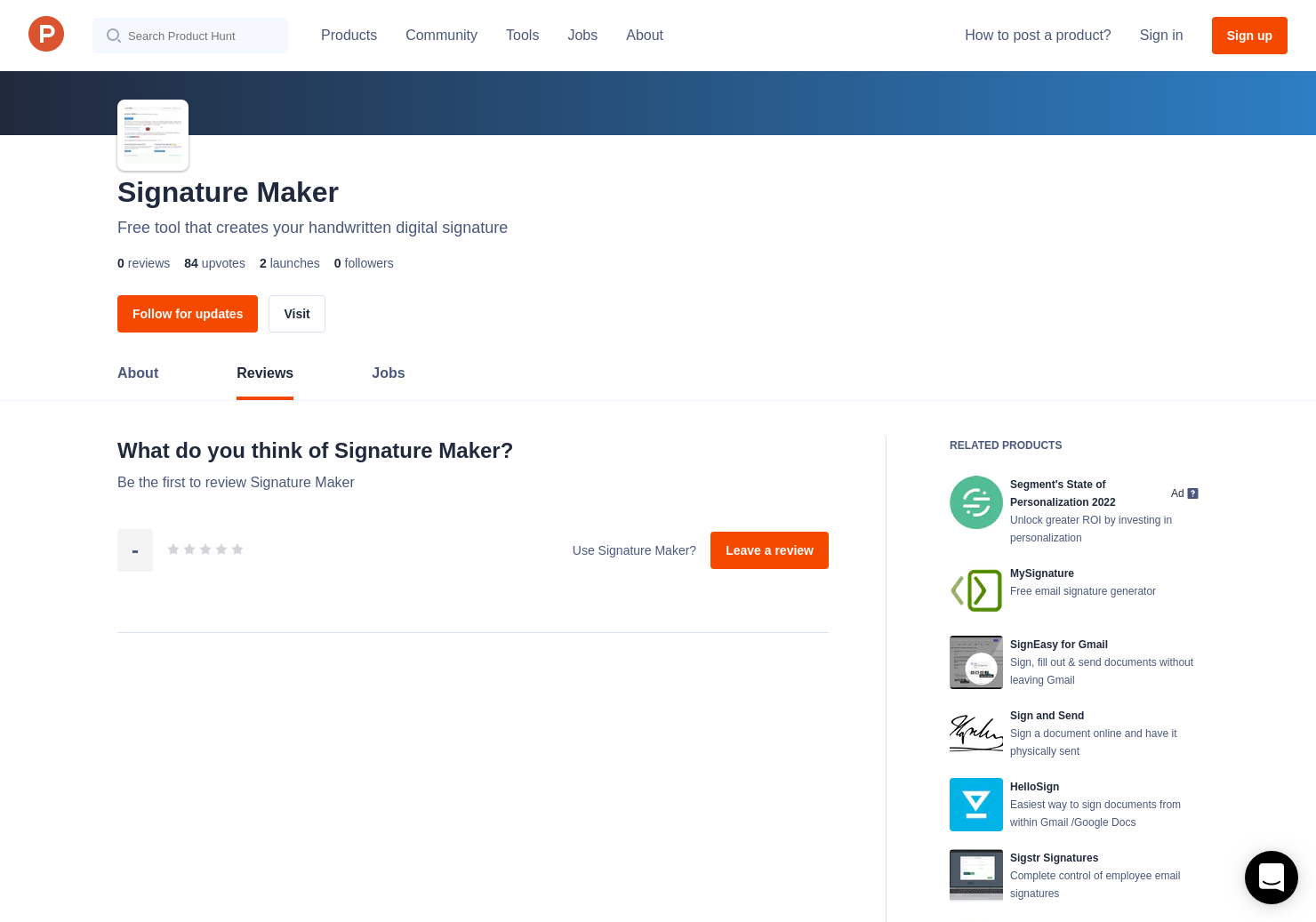 Signature Maker Reviews - Pros, Cons and Rating | Product Hunt