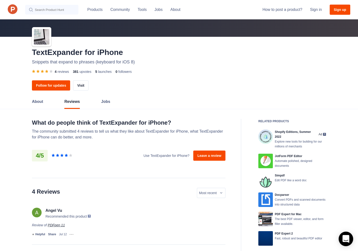 2 PDFpen Reviews - Pros, Cons and Rating | Product Hunt