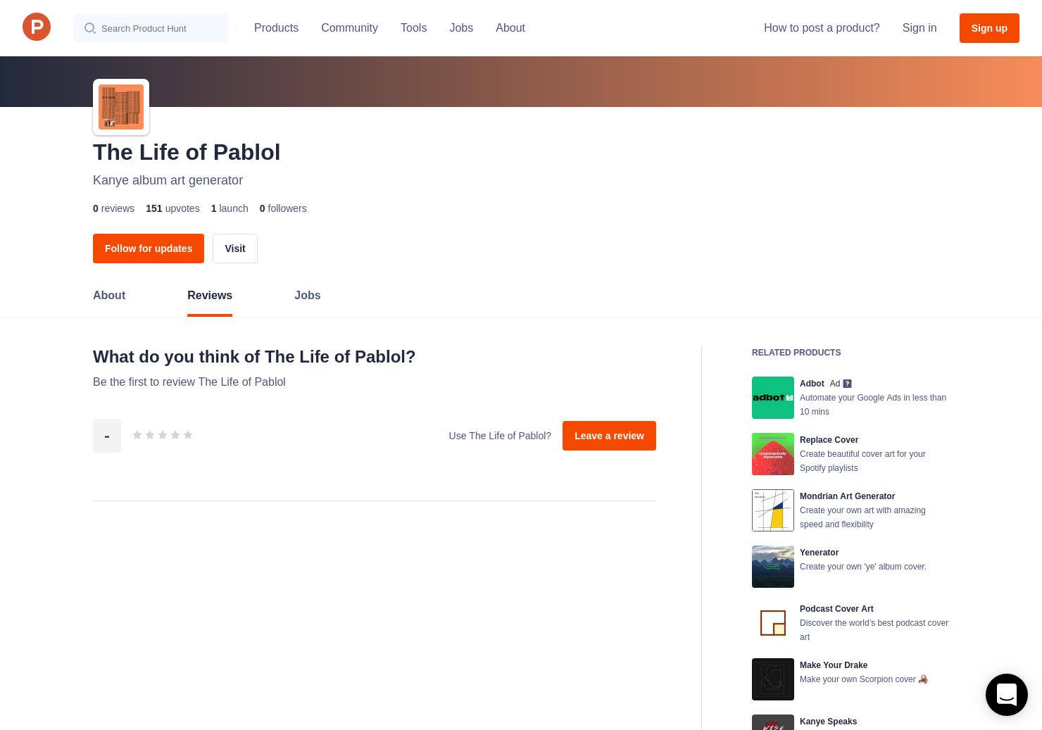 The Life of Pablol Reviews - Pros, Cons and Rating | Product