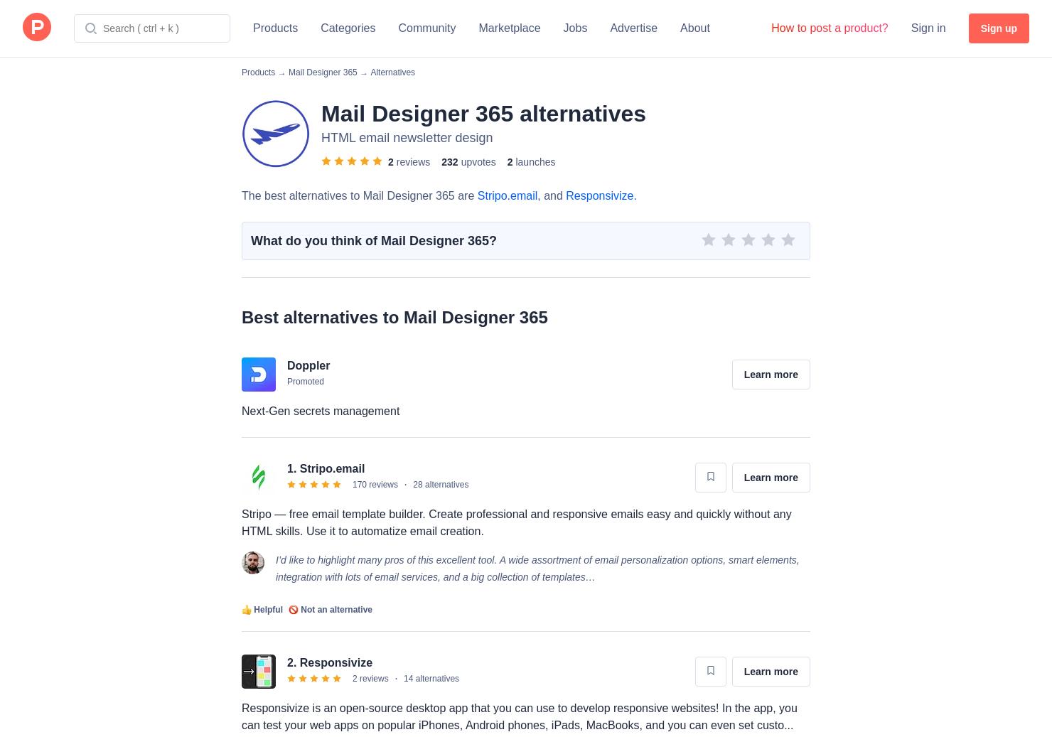 9 Alternatives To Mail Designer 365 For Mac Product Hunt