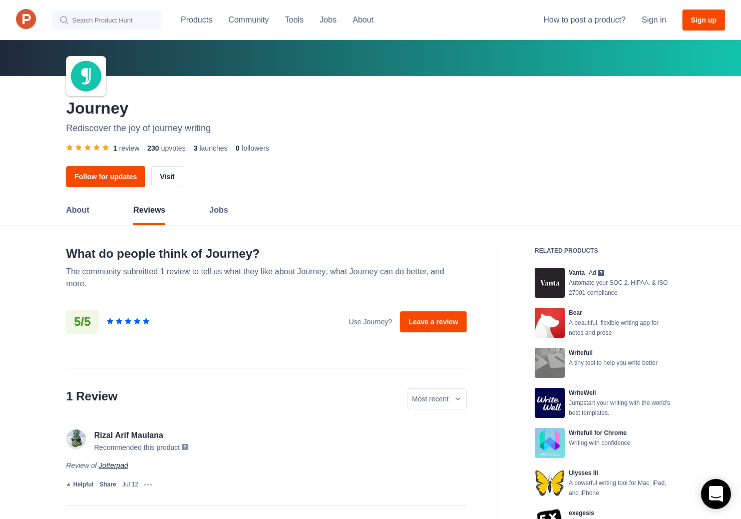 Jotterpad Reviews - Pros, Cons and Rating | Product Hunt