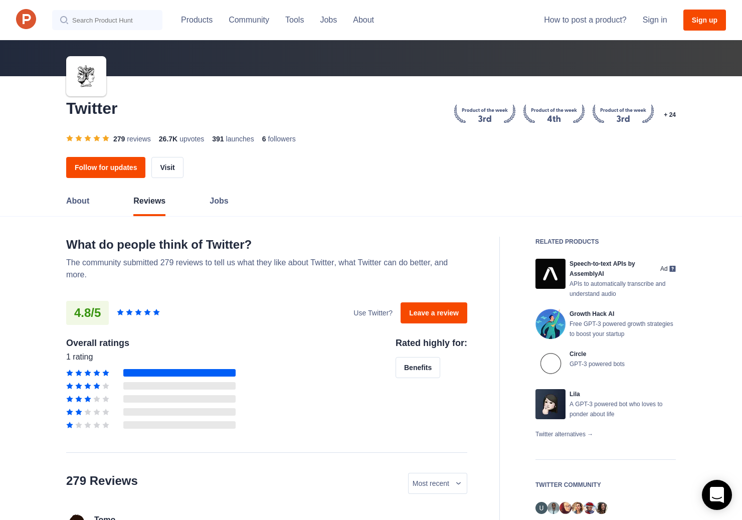 Twitter com refresh Reviews - Pros, Cons and Rating