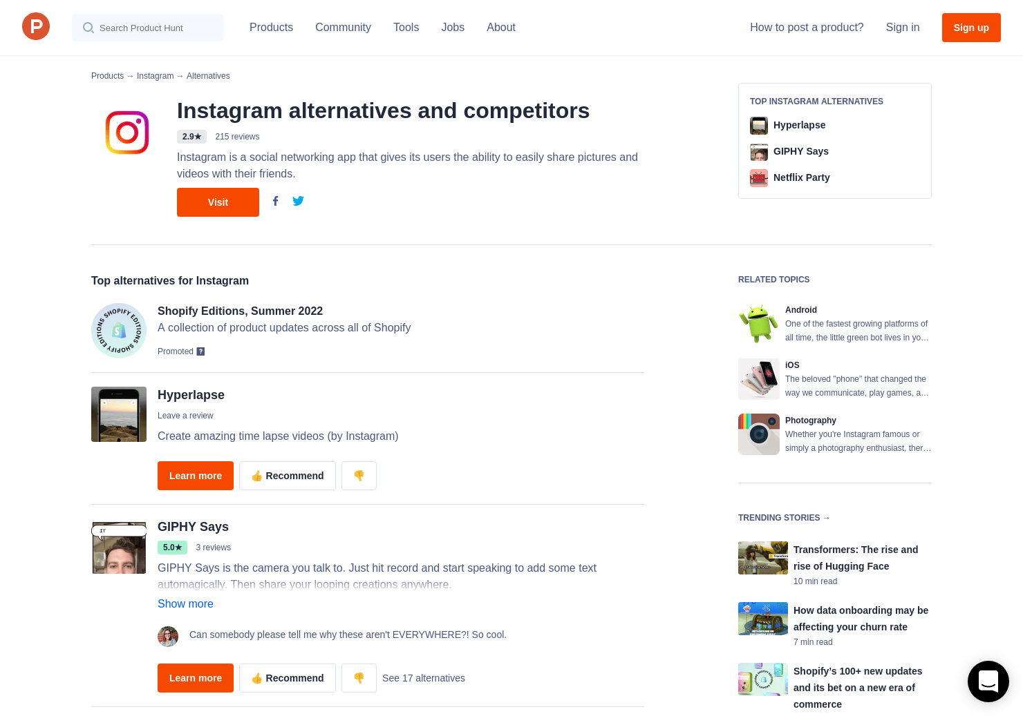 3 Alternatives to Instagram for Windows 10 for Windows