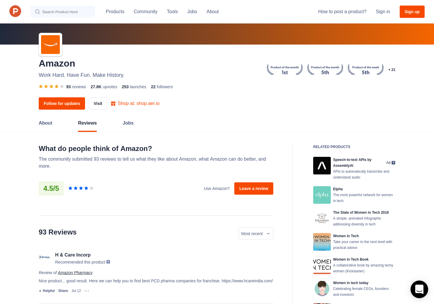 1 Amazon Music Unlimited Reviews - Pros, Cons and Rating